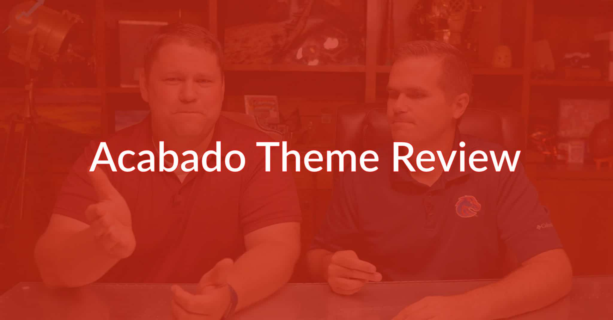 Acabado Theme Review: The Good, The Bad, And The Ugly