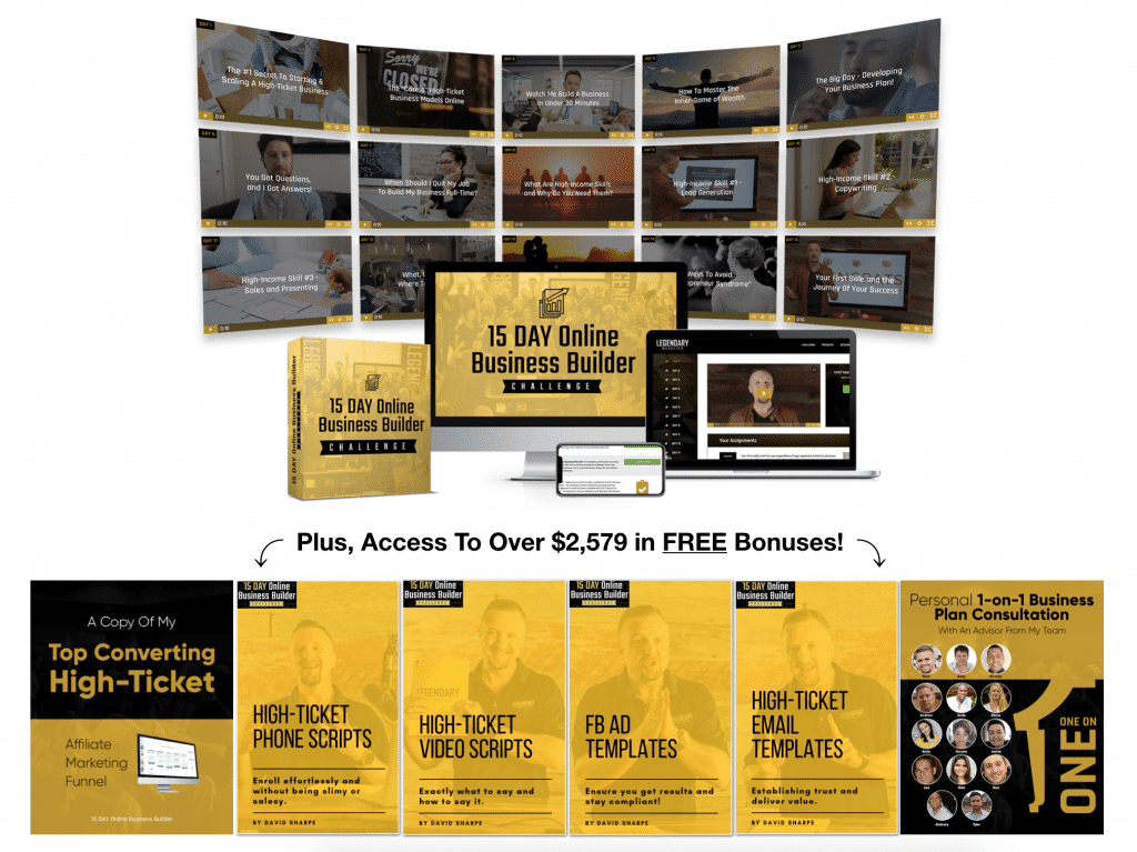 Official business builder challenge offer.