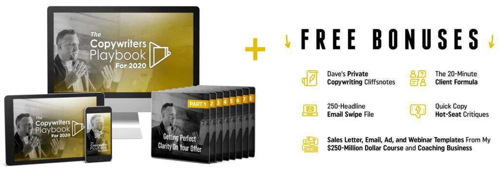 Copywriters playbook official offer.