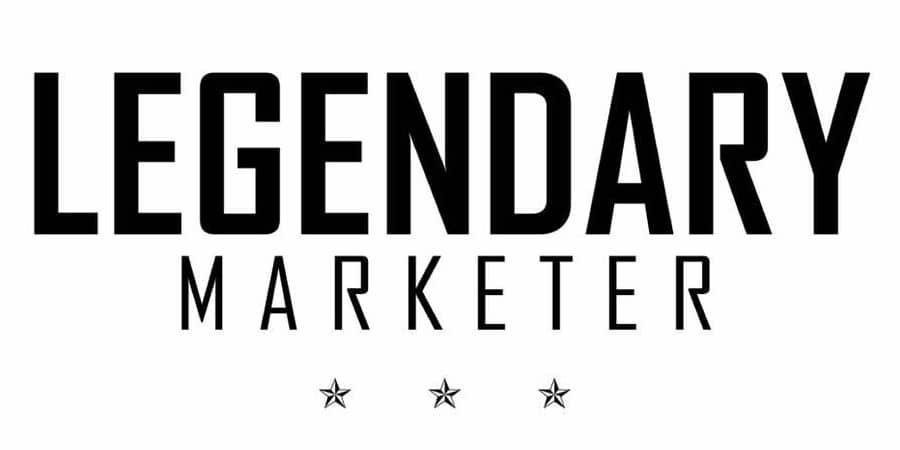 Official logo of legendary marketer.