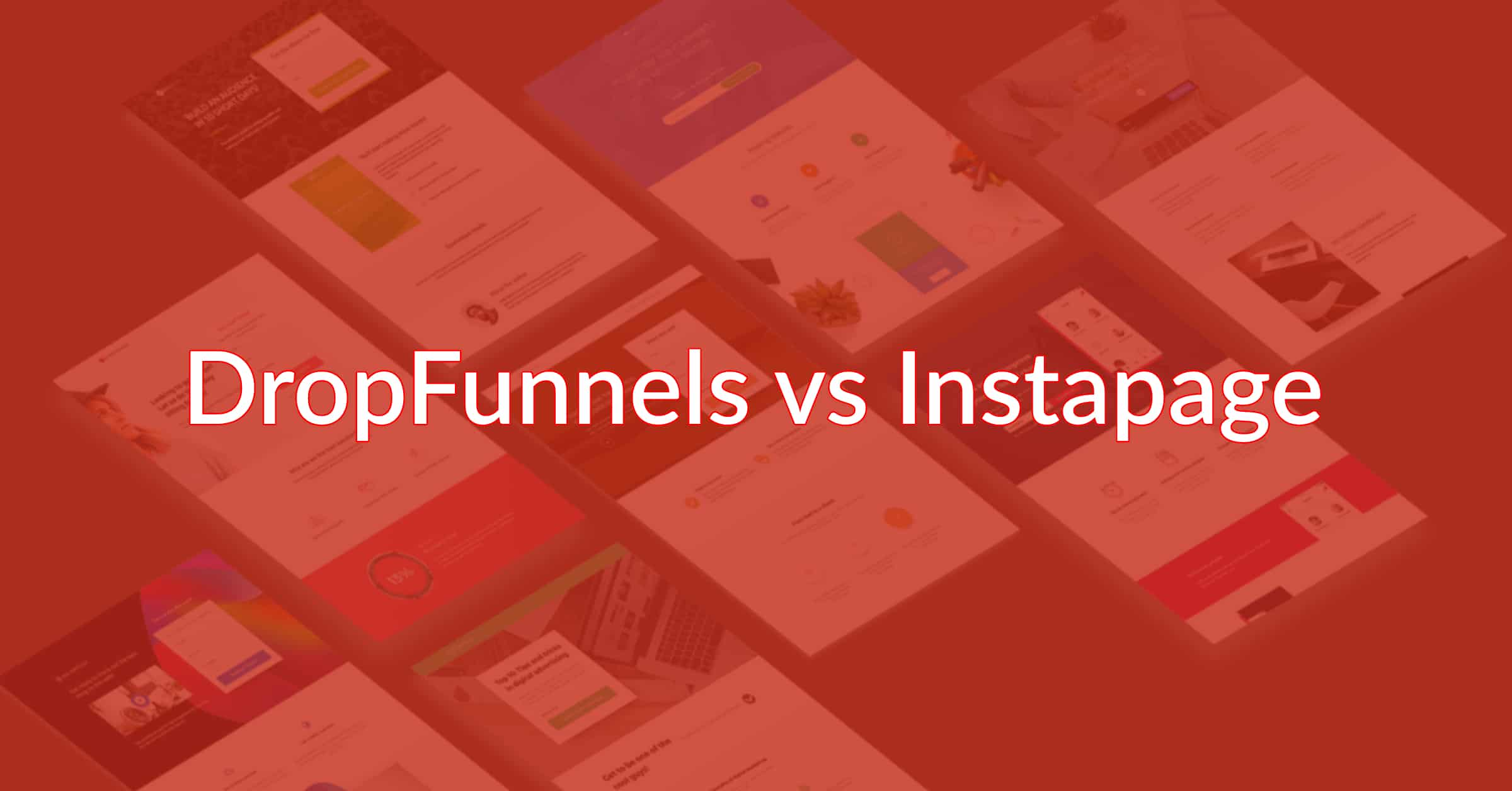 DropFunnels vs InstaPage: Can You Increase Sales With One?